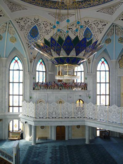 Молитвенный зал.