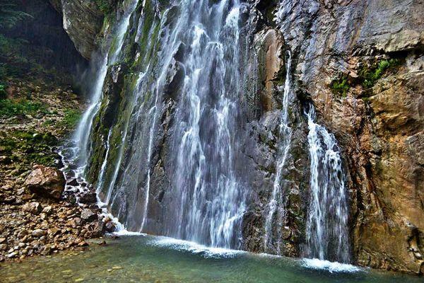 Дорога к водопадам.