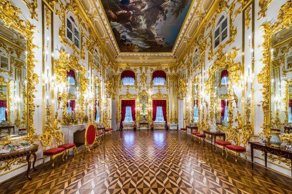 Дворец в Петергофе.