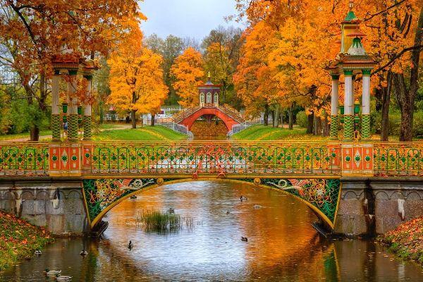 Экскурсия в Царское село из Санкт-Петербурга в 2021 году.