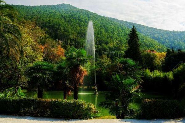 Природа Абхазии.