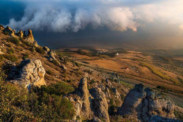 Гора Демерджи.