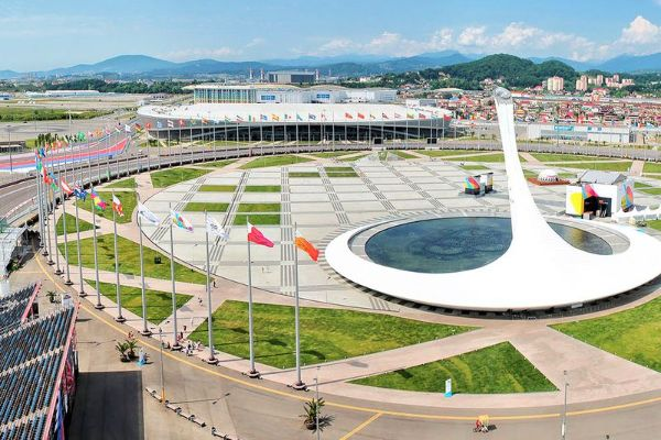 Олимпийские объекты.