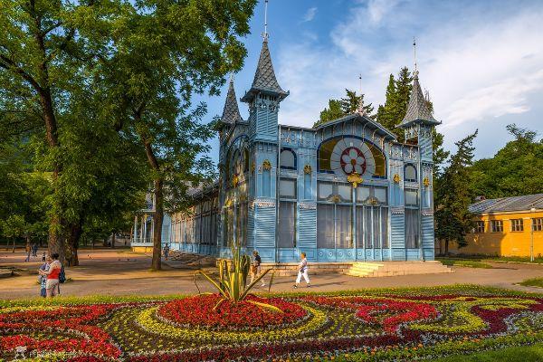 Весна в Пятигорске.