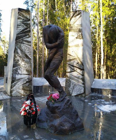 Памятник в Катыне.