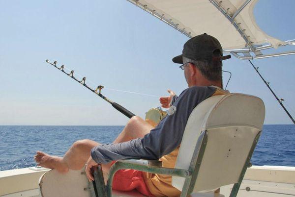 Морская рыбалка.