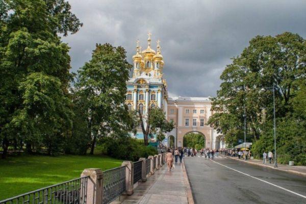 Прогулки по Пушкину.