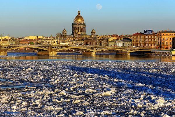 Апрель в Петербурге 2021.