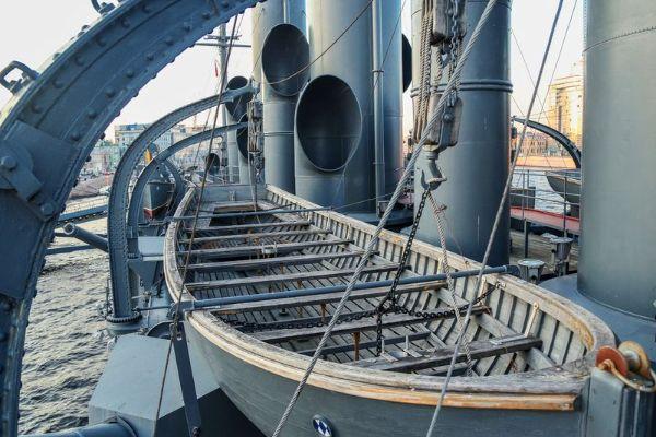 Экскурсия на крейсер.