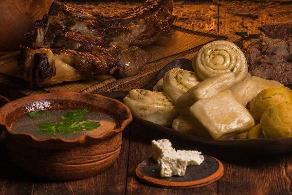 Национальная кухня Дагестана.