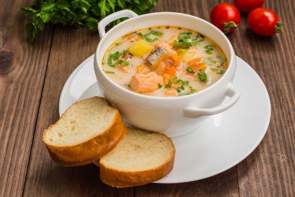 Суп «Лохикейтто».