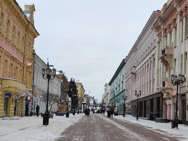 Рождественская улица.