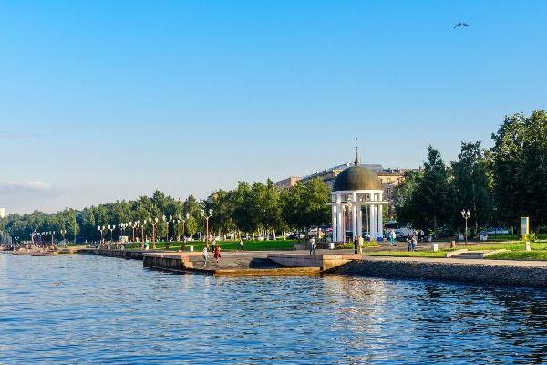 Лето 2021 в Петрозаводске.