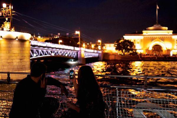 Разводка мостов.