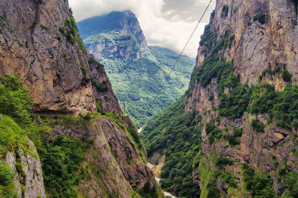 Ущелья Северного Кавказа.