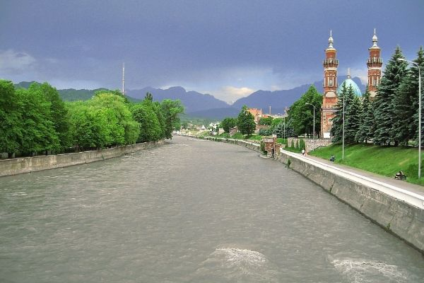 Река Терек.