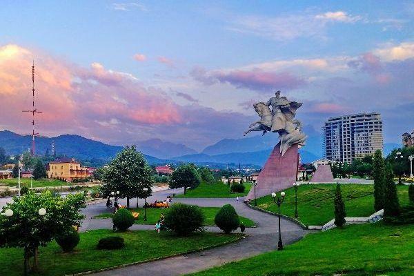 Июнь 2021 во Владикавказе.