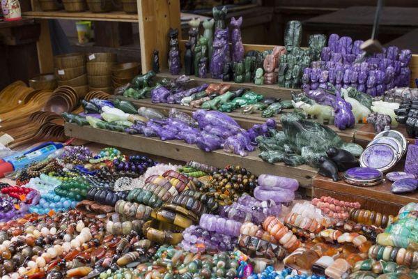 Сувенирный рынок.