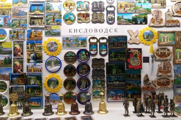 Сувениры из Кисловодска.
