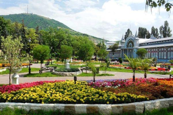 Парк в Пятигорске.