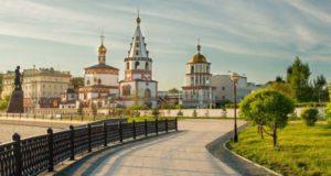 Иркутск летом 2021.