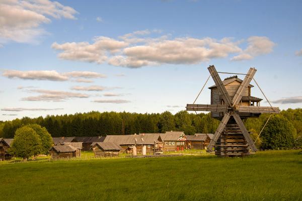 Музей-деревня.