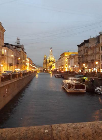 Реки и каналы Санкт-Петербурга.