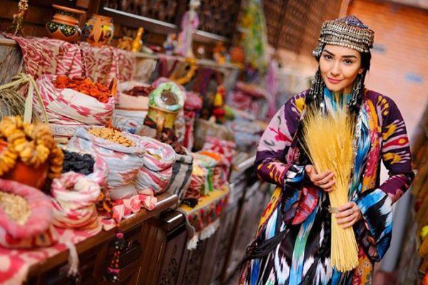 Сиабский базар.