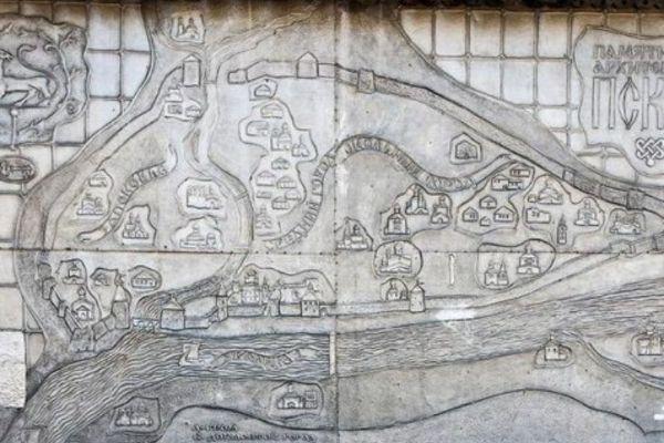 Карта города.