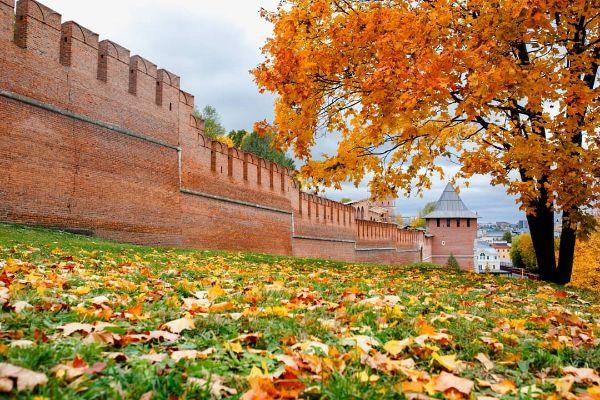 Великий Новгород осенью 2021 года.