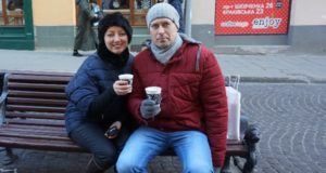 Уличное кафе.