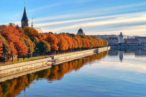 Калининград осенью 2021.