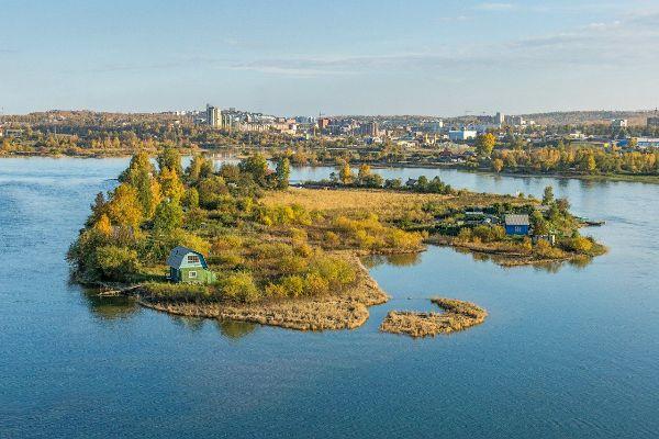 Октябрь 2021 в Иркутске.
