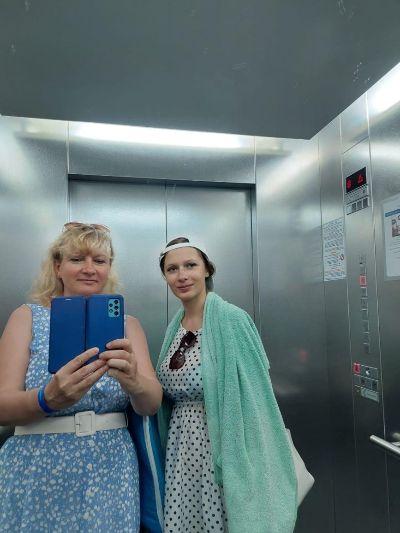 Лифт отеля.